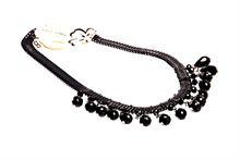 Korean Black Necklace (65X3)