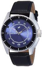 Fastrack Black Magic Analog Blue Dial Men's Watch - NE3089SL01