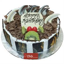 Black Forest Cake (1 kg) from Chefs Bakery