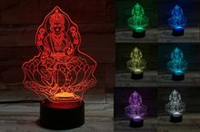 Goddess Laxmi 3D Light