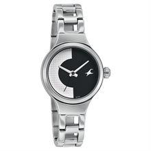 Fastrack Analog Black Dial Women's Watch - 6134SM01