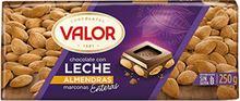 Valor Leche Almendras Chocolate (250g)