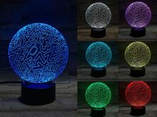 Number Ball 3D Light