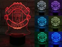 Manchester United 3D Light