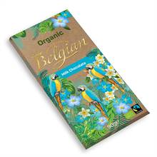 Belgian Organic Milk Chocolate Bar (90g)
