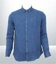 Kilometer Casual Full Shirt (KMQL009) - Blue