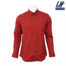 Kilometer Casual Full Shirt (KMQL016) - Red