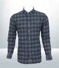 Kilometer Casual Full Shirt (KMQL007) - Blue