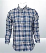 Kilometer Casual Full Shirt (KMQL015) - Blue